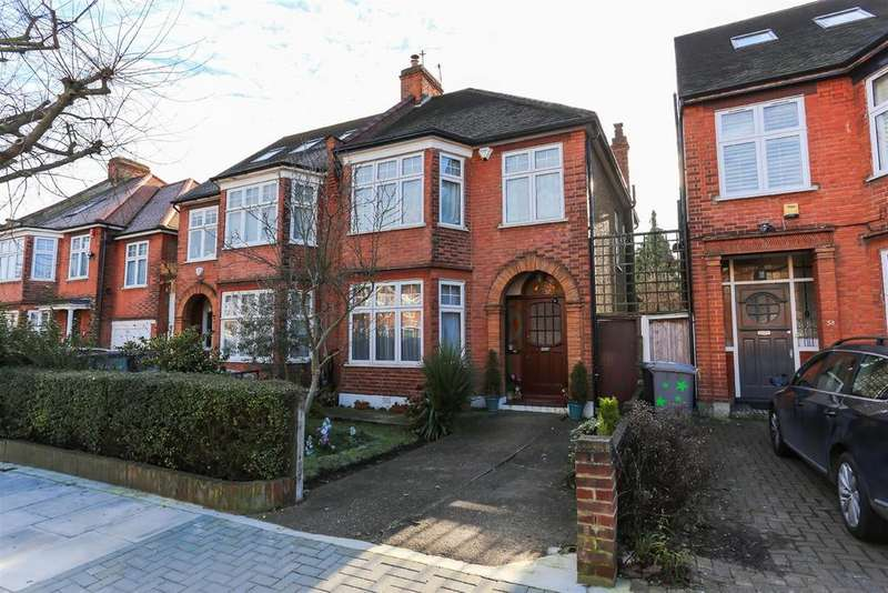 3 Bedrooms Semi Detached House for sale in Hardinge Road, Kensal Rise