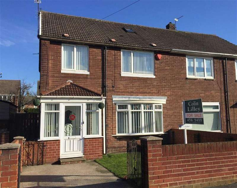 4 Bedrooms Semi Detached House for sale in Rembrandt Avenue, South Shields