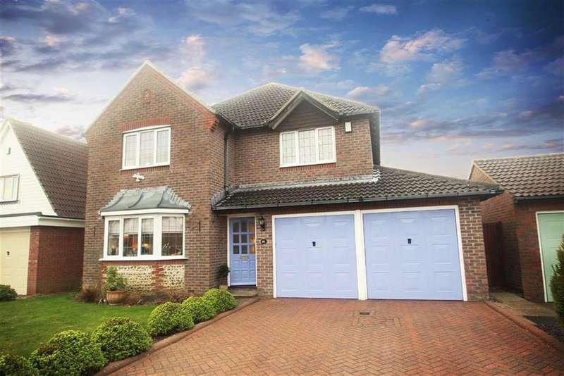5 Bedrooms Detached House for sale in Montgomeri Drive, Rustington, West Sussex