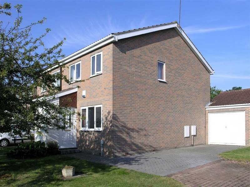 2 Bedrooms Semi Detached House for sale in Risby Place, Beverley, East Yorkshire