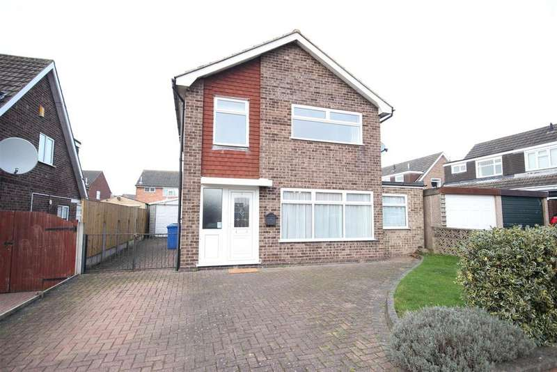 3 Bedrooms Detached House for sale in Adwick Close, Mickleover, Derby