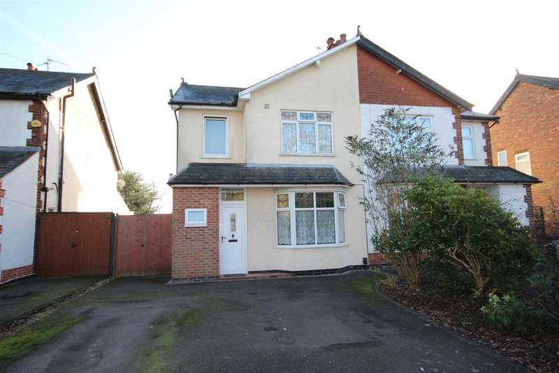 3 Bedrooms Semi Detached House for sale in Uttoxeter Road, Mickleover, Derby