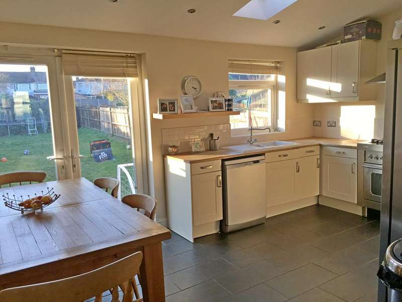 3 Bedrooms Terraced House for sale in EGHAM CRESCENT, CHEAM, SUTTON SM3