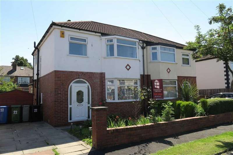 3 Bedrooms Semi Detached House for sale in Southvale Crescent, Timperley, Cheshire, WA15