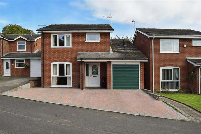 4 Bedrooms Detached House for sale in Longmoss Close