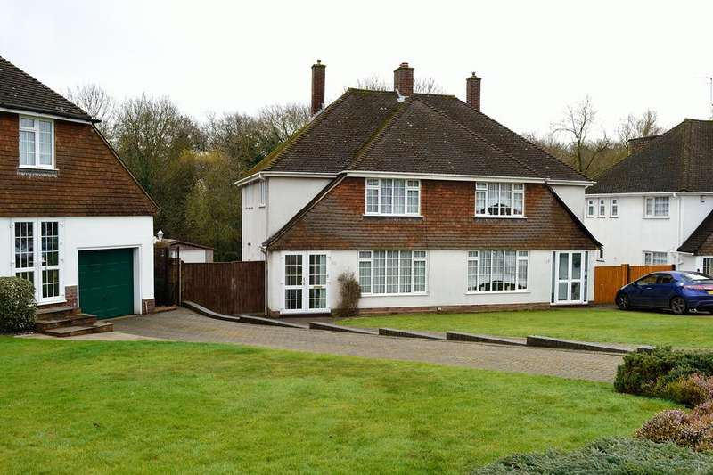 3 Bedrooms Semi Detached House for sale in Lakeside, Earley, Reading, Berkshire, RG6 7PQ