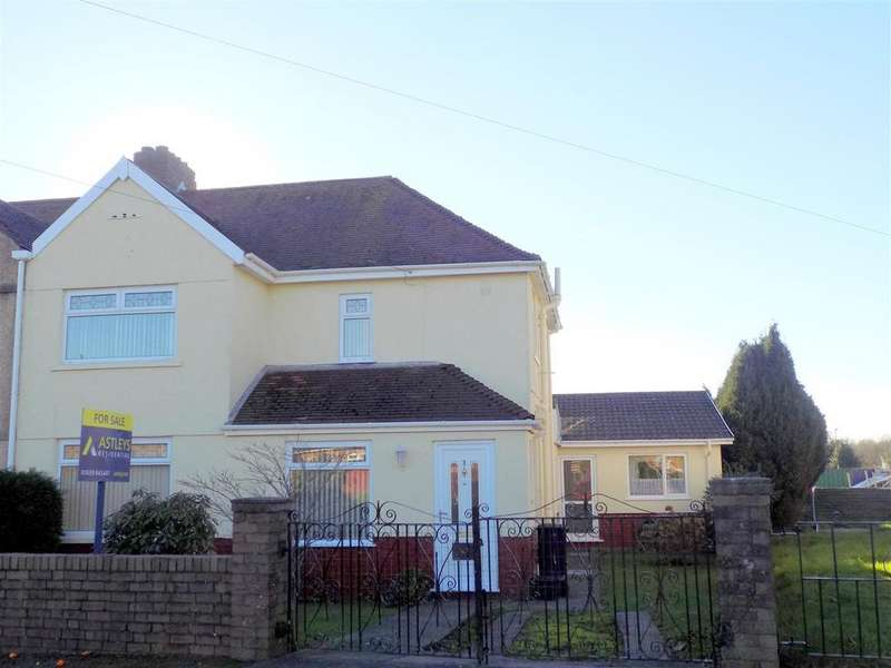 3 Bedrooms Semi Detached House for sale in Glyn Leiros Gardens, Neath