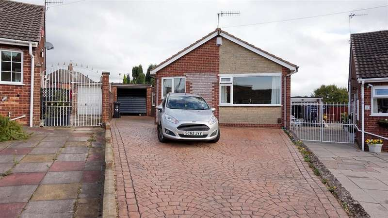2 Bedrooms Detached Bungalow for sale in Sunningdale Grove,Chesterton, Newcastle, Staffs