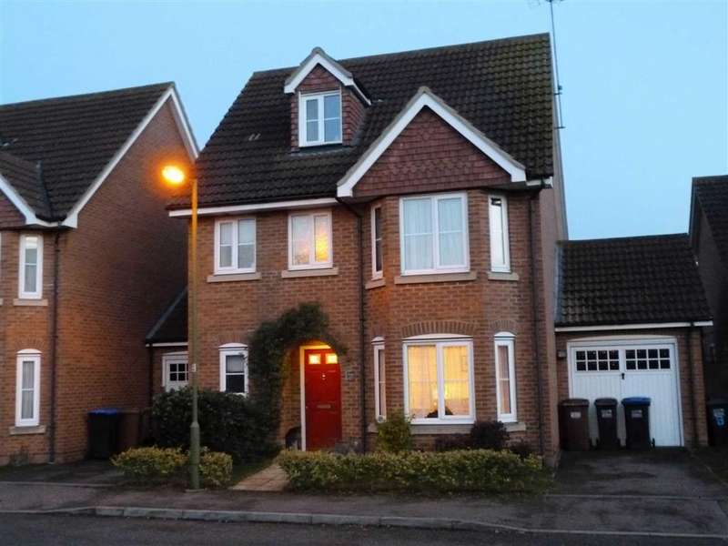 4 Bedrooms Detached House for sale in Daffodil Close, Hatfield Garden Village, Hatfield