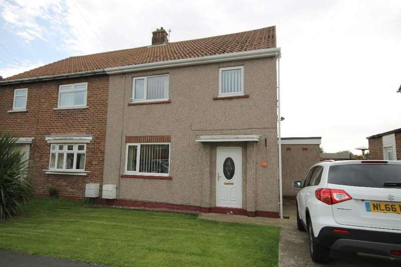 3 Bedrooms Semi Detached House for sale in Sycamore Road, Fishburn