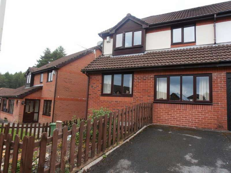 3 Bedrooms Semi Detached House for sale in Forest View, Glenboi, Mountain Ash
