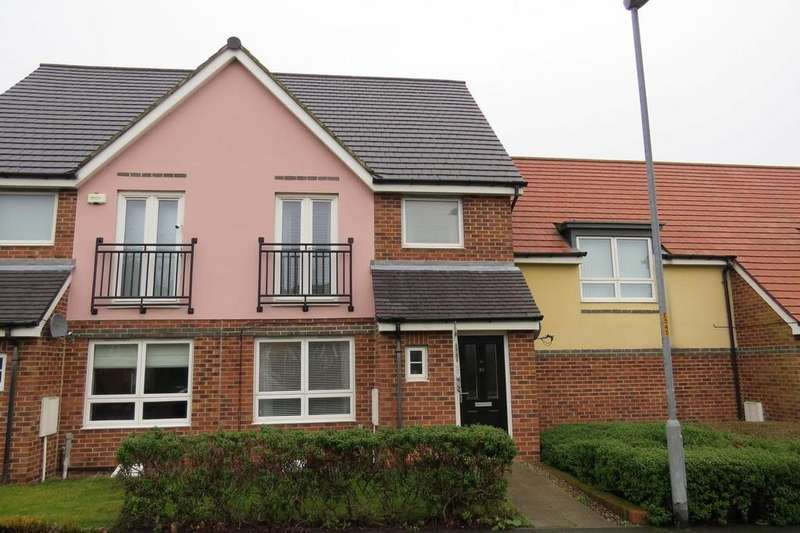 3 Bedrooms Terraced House for sale in Hindmarsh Drive, Barley Rise, Ashington