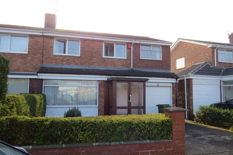 4 Bedrooms Semi Detached House for sale in Beverley Drive, Stakeford,
