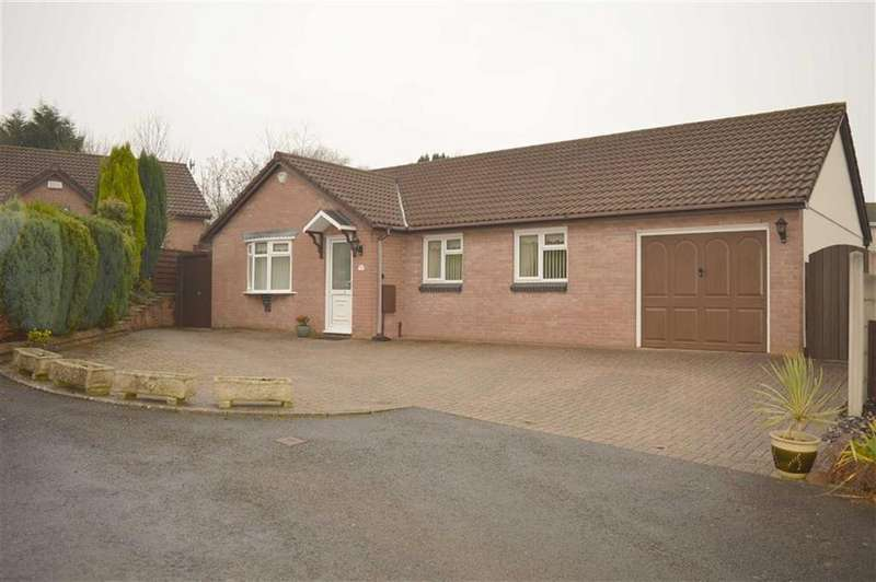 3 Bedrooms Detached Bungalow for sale in Lliw Valley Close, Gowerton, Swansea