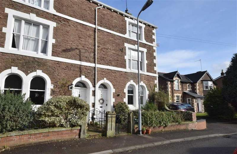 4 Bedrooms Terraced House for sale in Monkswell Road, Monmouth, Monmouthshire