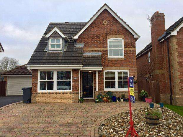 3 Bedrooms Detached House for sale in ST MARYS DRIVE, SHERBURN VILLAGE, DURHAM CITY : VILLAGES EAST OF