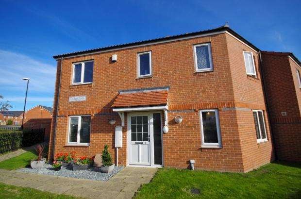 3 Bedrooms End Of Terrace House for sale in Carradale, Beckwith Green, SR3