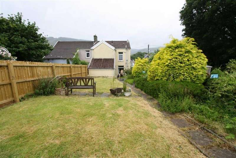 3 Bedrooms Semi Detached House for sale in Tirfounder Road, Aberdare, Mid Glamorgan