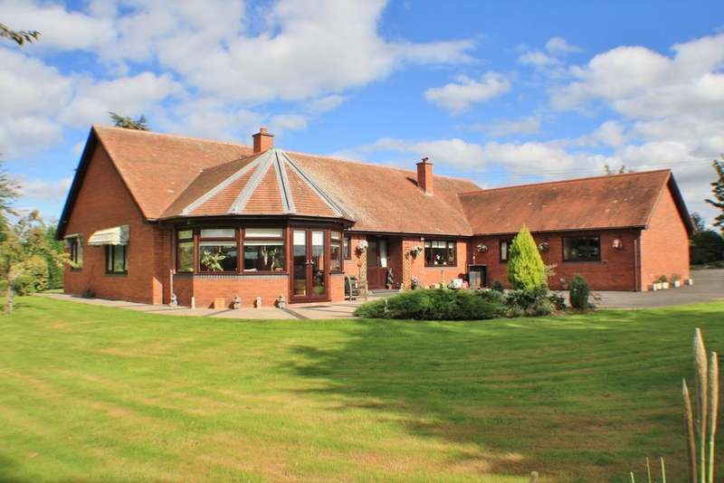 4 Bedrooms Detached Bungalow for sale in Lyde, Hereford, HR4