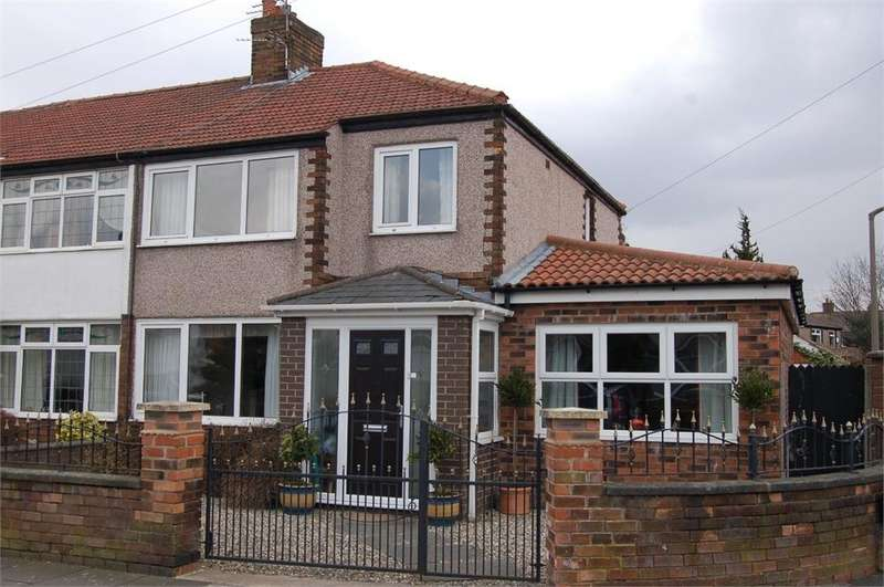 4 Bedrooms Semi Detached House for sale in Robina Road, Sutton, St Helens, Merseyside