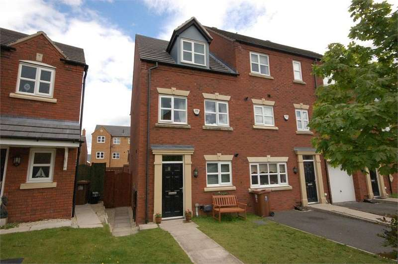 3 Bedrooms End Of Terrace House for sale in Haigh Close, Waterside Village, St Helens, Merseyside