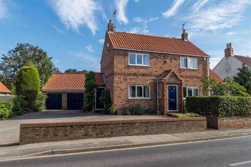 4 Bedrooms Detached House for sale in Wetherby Road, Rufforth, York
