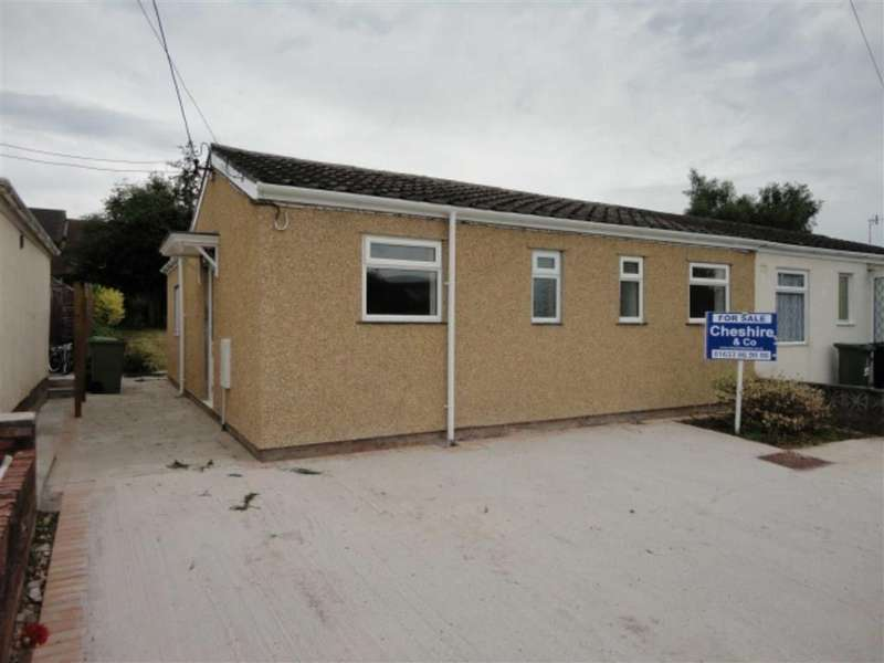 3 Bedrooms Semi Detached Bungalow for sale in The Walk, New Inn