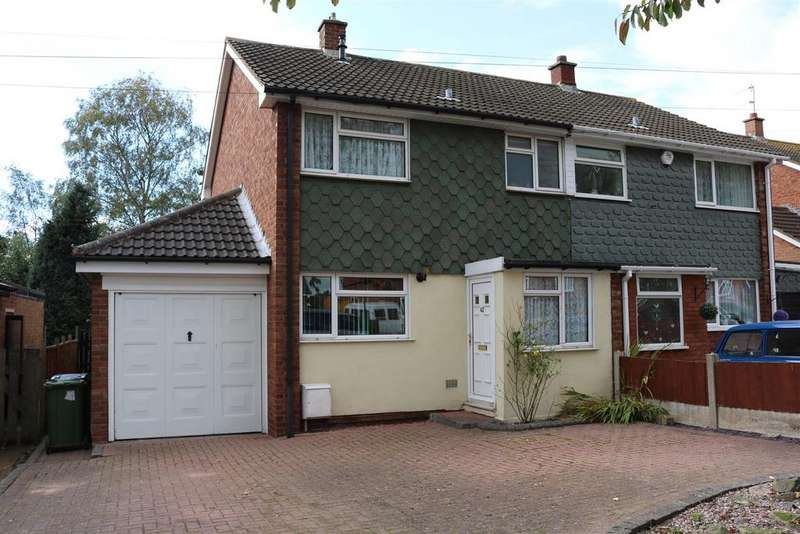 3 Bedrooms Semi Detached House for sale in Little Warton Road, Warton, Tamworth