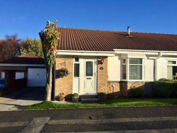 2 Bedrooms Semi Detached Bungalow for sale in OSPREY CLOSE, ESH WINNING, DURHAM CITY : VILLAGES WEST OF