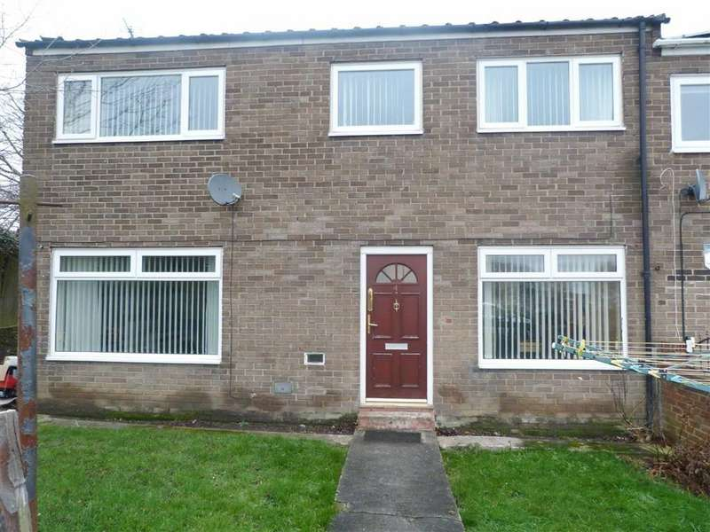 3 Bedrooms End Of Terrace House for sale in Forestborn Court, Newcastle Upon Tyne