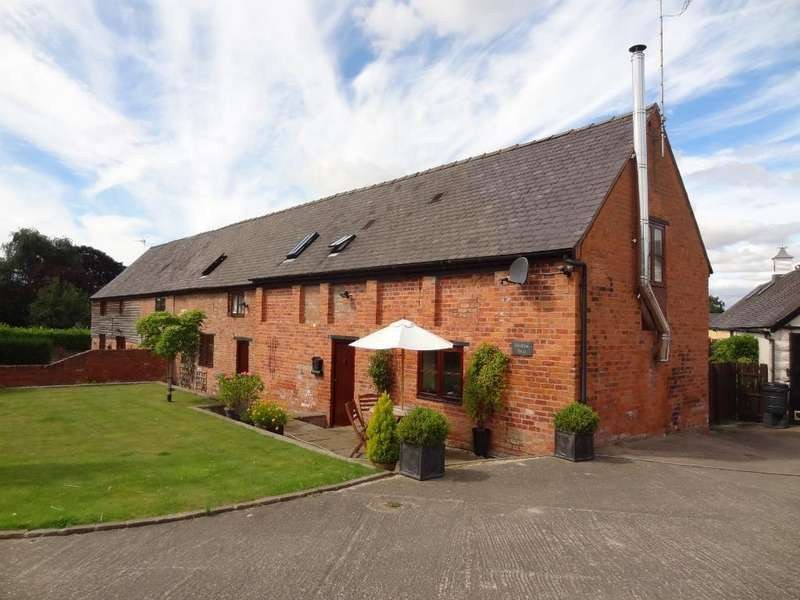 4 Bedrooms Barn Conversion Character Property for sale in Meadow Barn, Lee Brockhurst, Shrewsbury
