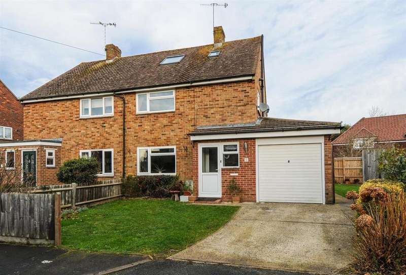 3 Bedrooms Semi Detached House for sale in Highview Road, Eastergate