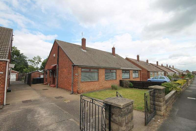 2 Bedrooms Semi Detached Bungalow for sale in Balmoral Road, Middlesbrough