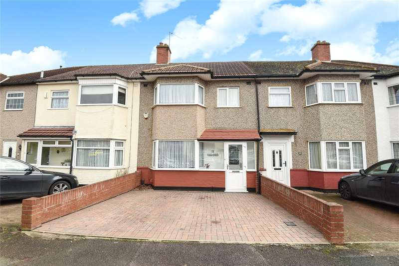 3 Bedrooms Terraced House for sale in Lea Crescent, Ruislip, Middlesex, HA4