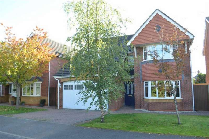 4 Bedrooms Detached House for sale in The Hedgerows, Hawarden, Flintshire, Deeside, Flintshire