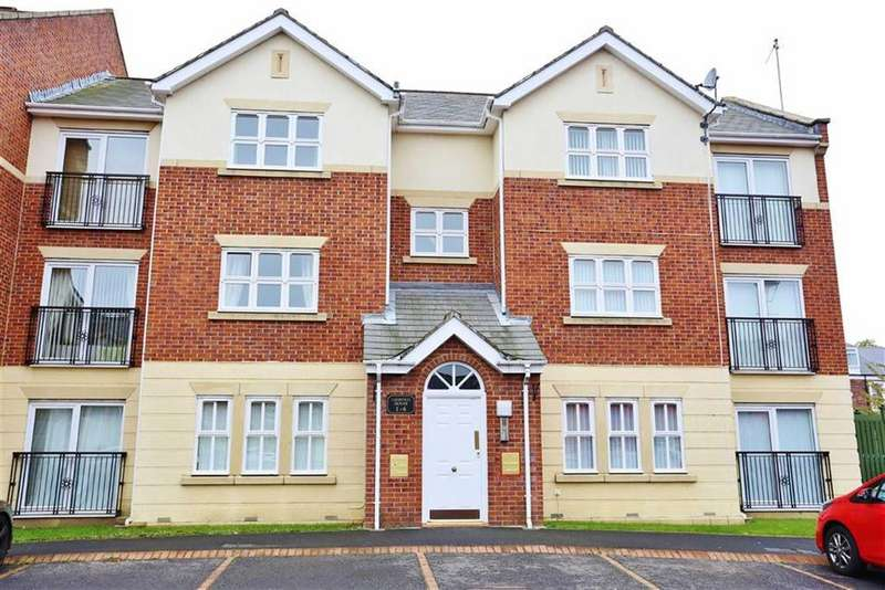 2 Bedrooms Apartment Flat for sale in Leopold House, Royal Courts, Sunderland, SR2