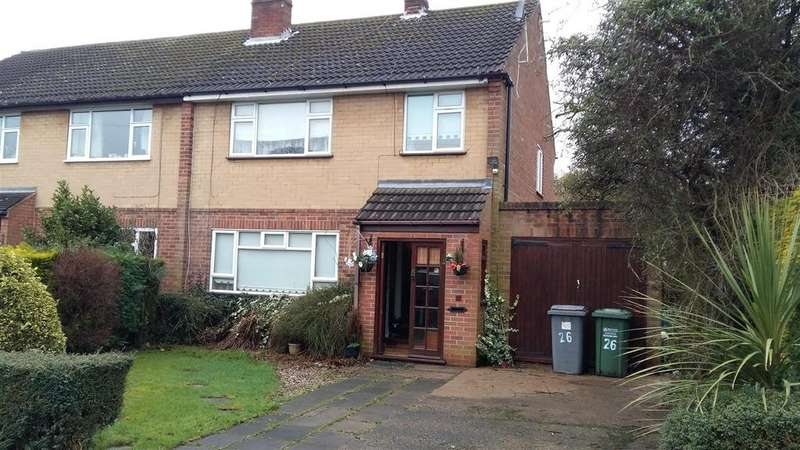 3 Bedrooms Semi Detached House for sale in Comberton Avenue, Kidderminster