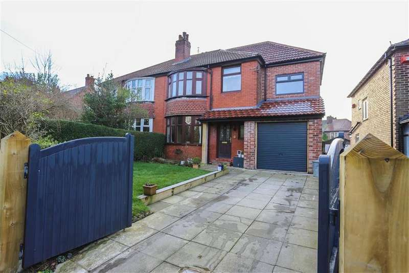 4 Bedrooms Semi Detached House for sale in Station Road, Marple, Cheshire