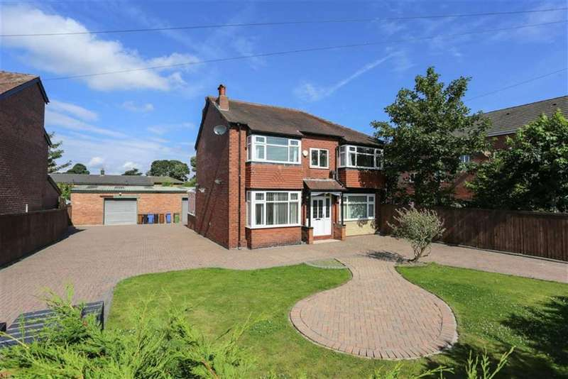 5 Bedrooms Detached House for sale in Cross Lane, Marple, Cheshire
