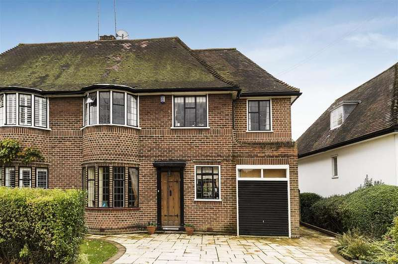 5 Bedrooms Semi Detached House for sale in Vivian Way, N2