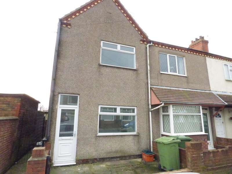3 Bedrooms End Of Terrace House for sale in Columbia Road, Grimsby DN32