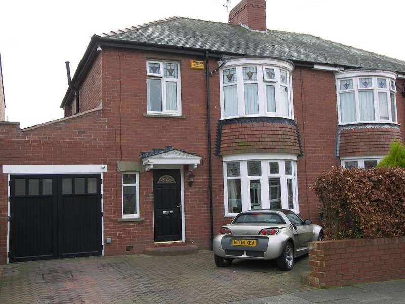 3 Bedrooms Semi Detached House for sale in The Avenue, Loansdean, Morpeth