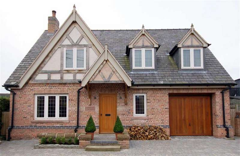4 Bedrooms Detached House for sale in Worthenbury Road, Shocklach, Cheshire