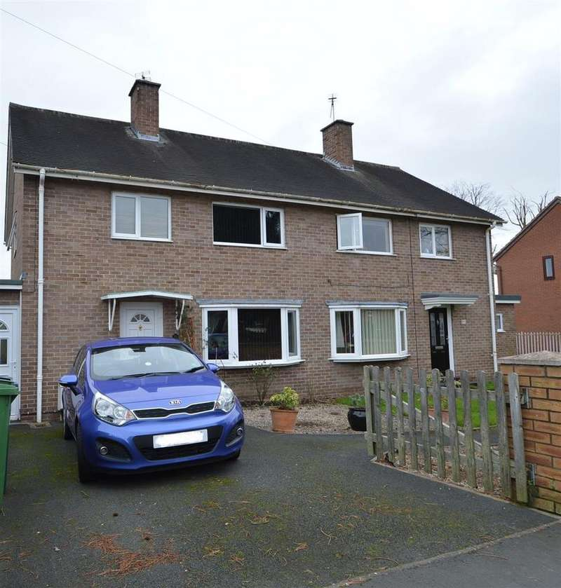 3 Bedrooms Semi Detached House for sale in 20 Coton Mount, Shrewsbury, SY1 2NN