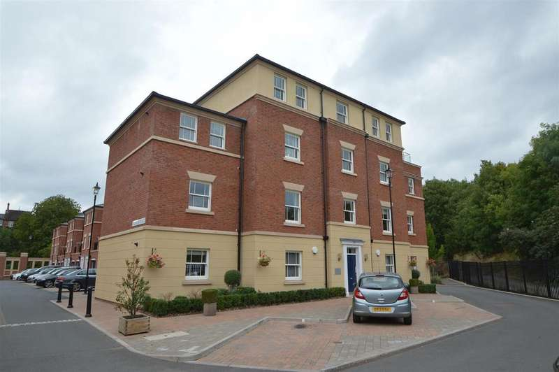 2 Bedrooms Apartment Flat for sale in 91 The Old Meadow, Abbey Foregate, Shrewsbury SY2 6AB