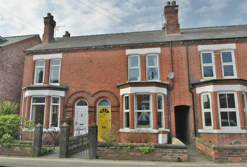 3 Bedrooms Terraced House for sale in Moss Road, Northwich