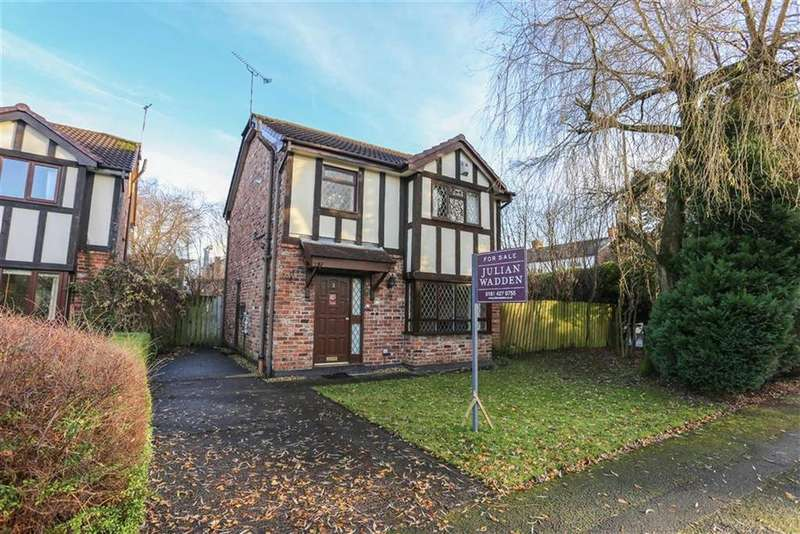 3 Bedrooms Detached House for sale in Hill Rise, Romiley, Cheshire