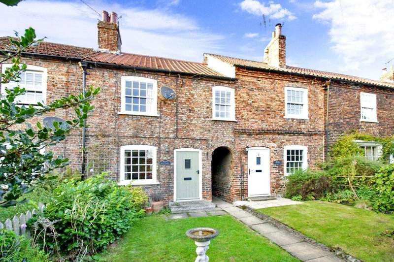 2 Bedrooms Terraced House for sale in Stonegate, Whixley, York