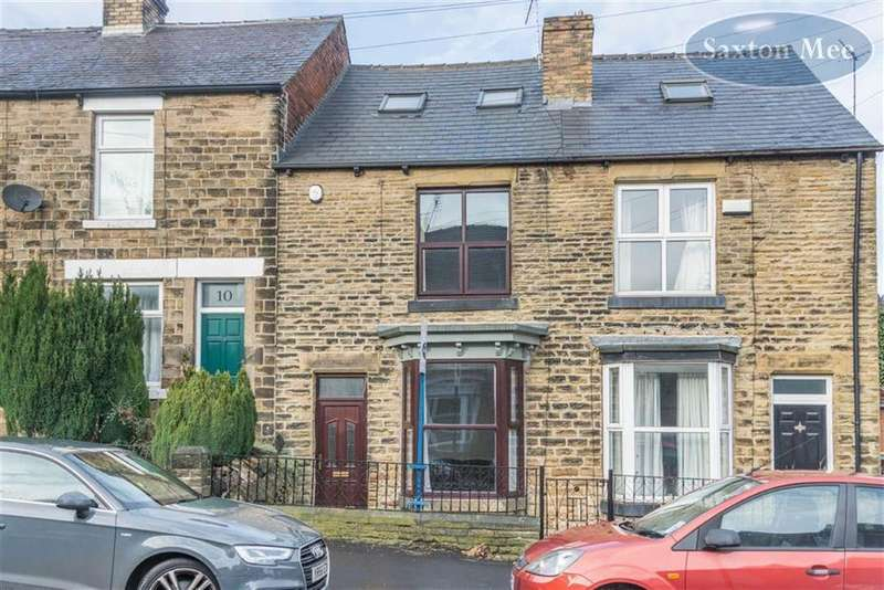 3 Bedrooms Terraced House for sale in Toftwood Road, Crookes, Sheffield, S10