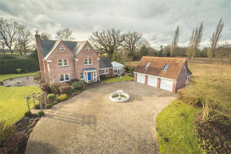 6 Bedrooms Detached House for sale in Parkside, Little Hallingbury Park, Little Hallingbury